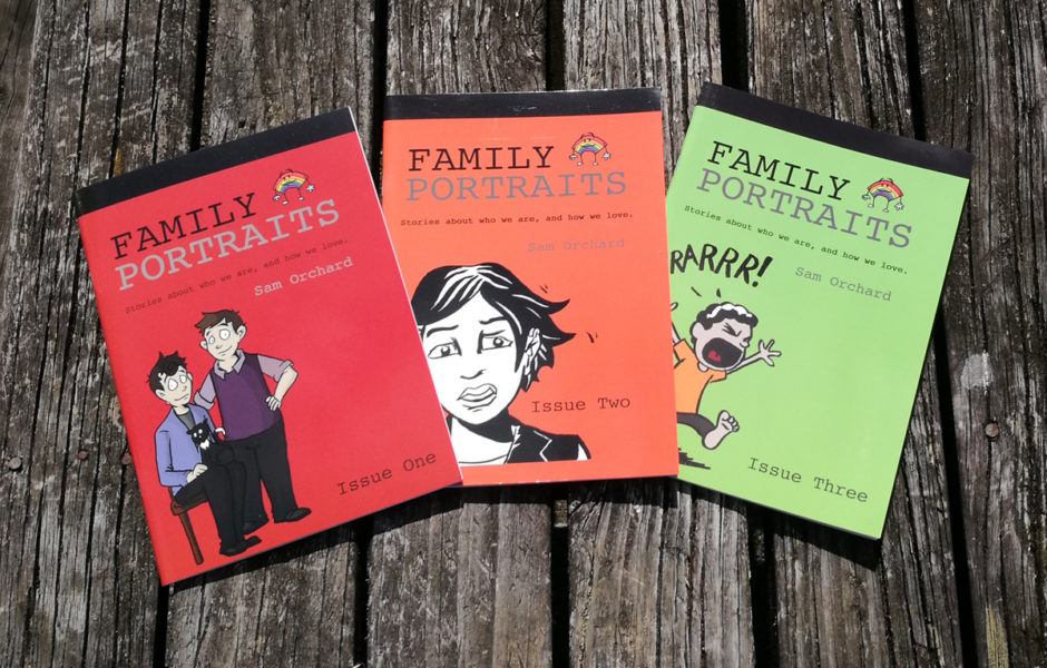 Family Portraits First Three Issues