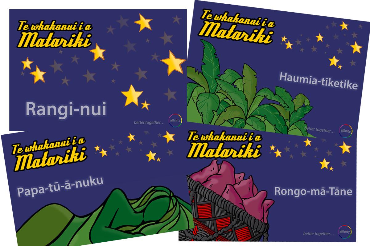 Matariki Postcards